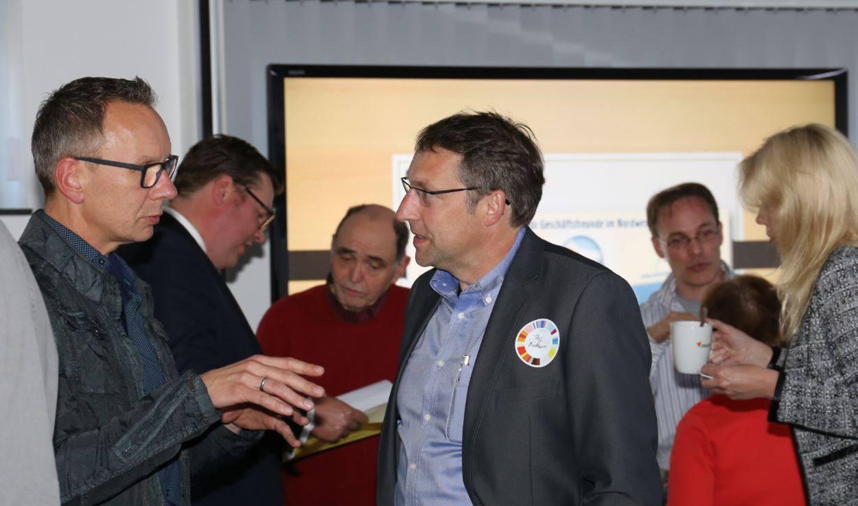Unternehmertreffen Nordwest Jürgen Brüna Veranstaltung Treffen der Unternehmer Netzwerken