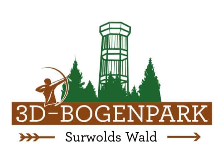 Unternehmertreffen Nordwest Logo 3D Bogenpark Surwolds Wald