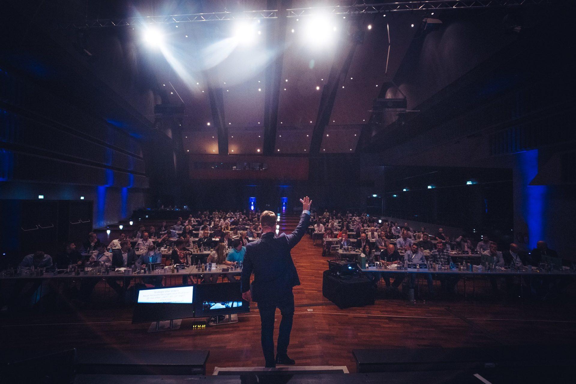 Matthias Aumann im Unternehmertreffen Nordwest
