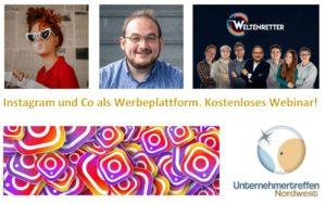 Unternehmertreffen Nordwest virtuell Instagram
