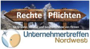 Unternehmertreffen Oldenburg Rechte