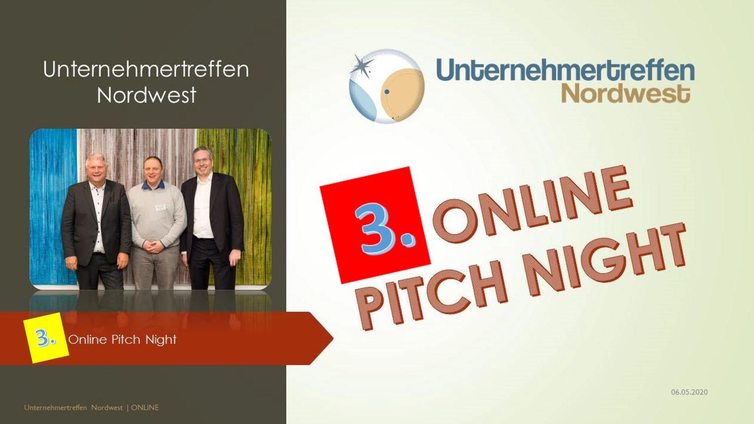Unternehmertreffen Nordwest Pitch Night 3