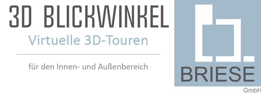 Unternehmertreffen Nordwest Logo 3D Blickwinkel Briese