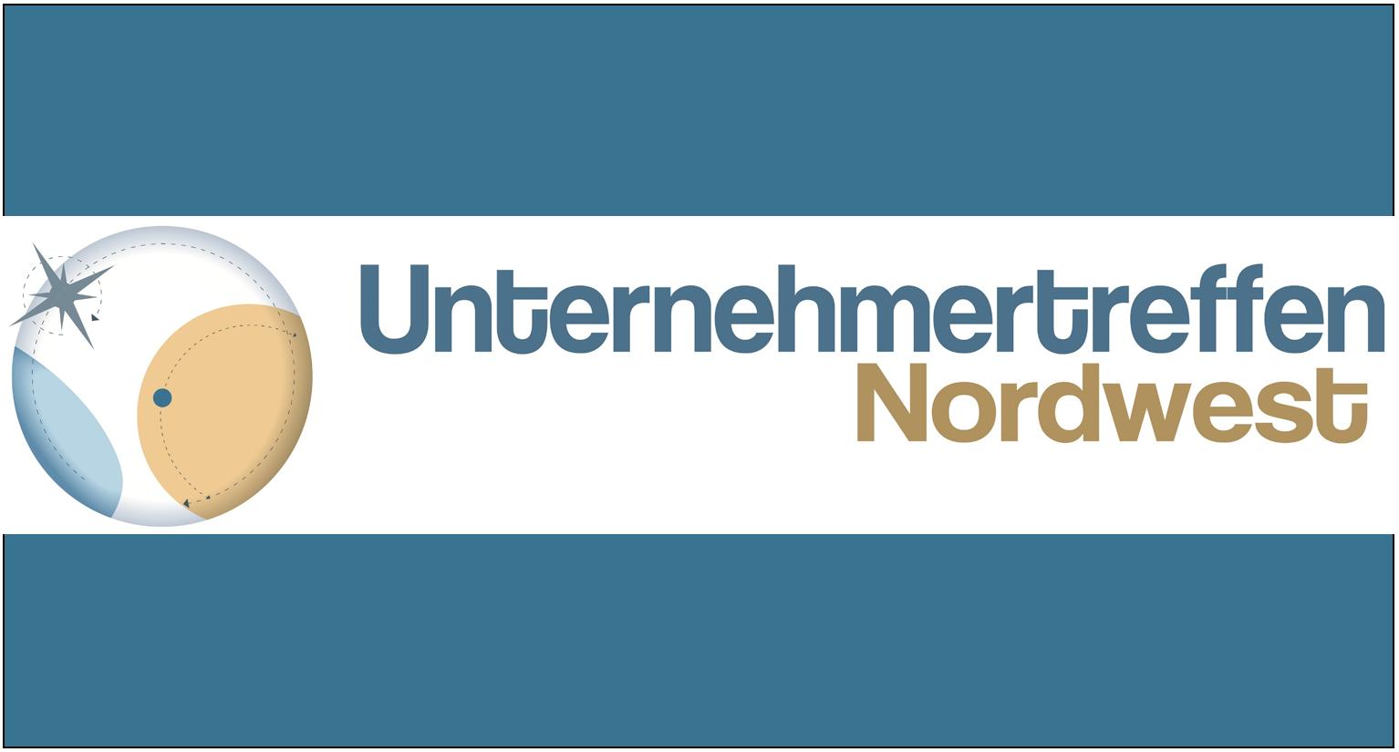 Unternehmertreffen Nordwest Logo blau gefasst