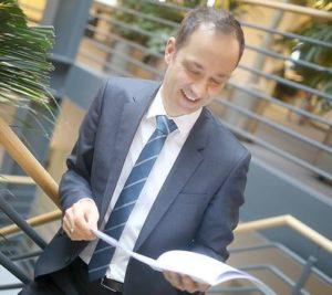 Christian Bolte von der Creditreform im Unternehmertreffen Nordwest