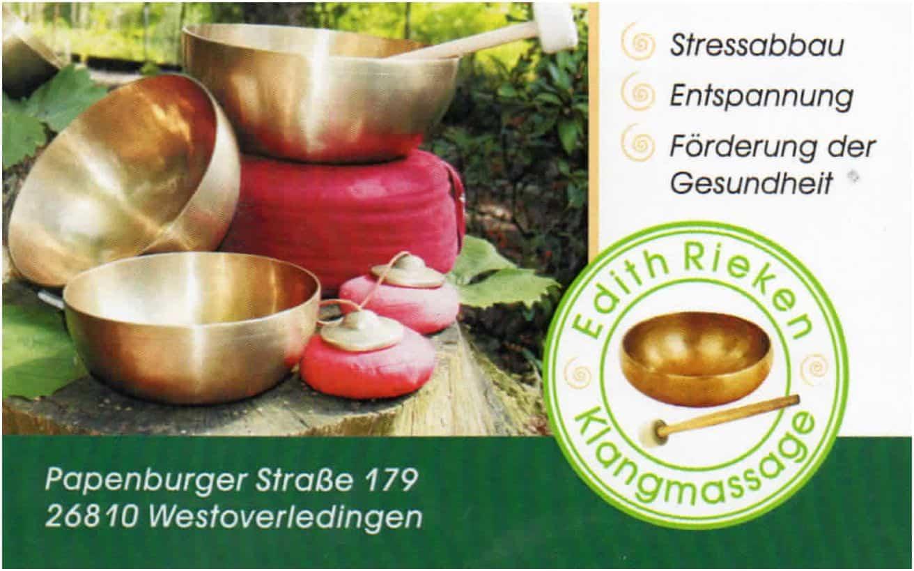 Unternehmertreffen Nordwest Logo Edith Rieken Klangmassage