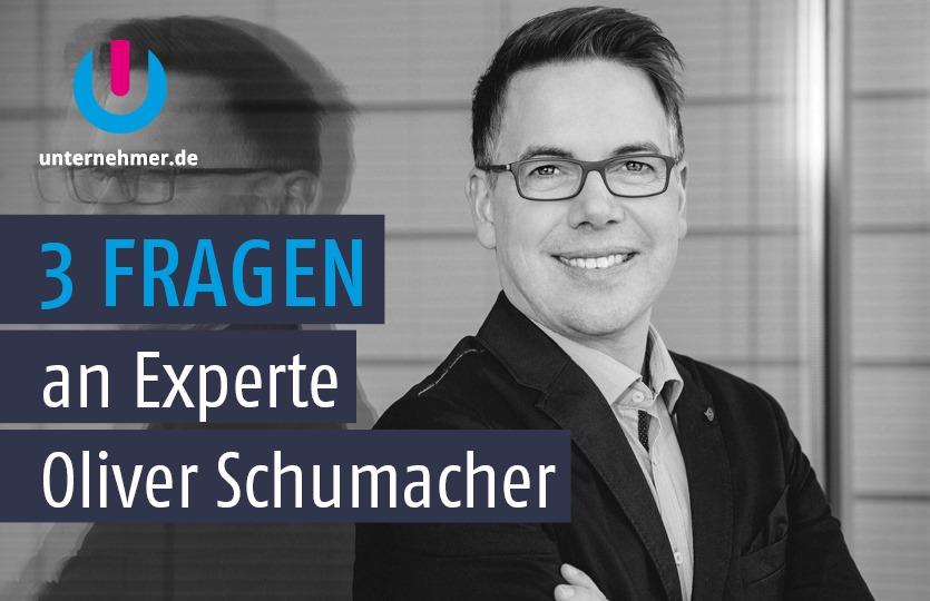 Verkaufen mit Spaß! Oliver Schumacher